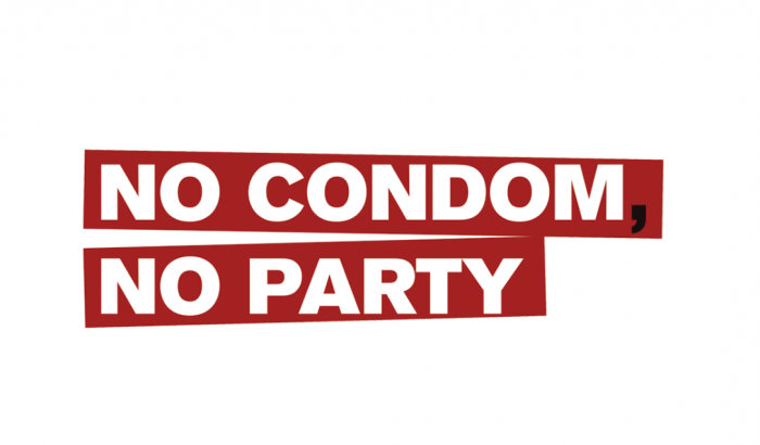 No Condom No Party: camiseta solidaria