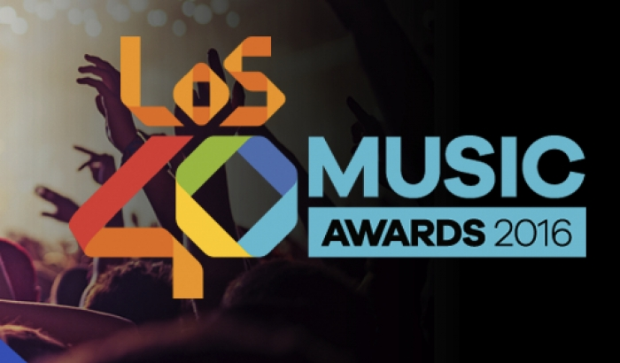 Los 40 Music Awards 2016 with de fight against AIDS